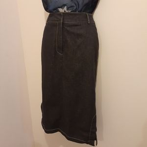 3 for $25- Jean Skirt. Size Petite 4